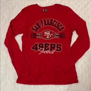 SF 49ers long sleeve tee